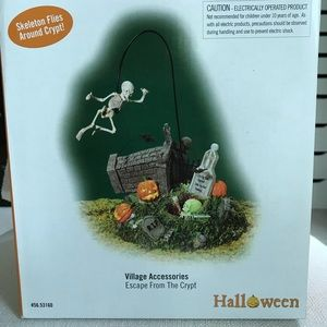 NWT Dept 56 Escape from the Crypt